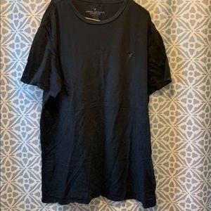 American eagle men's black xl T-shirt